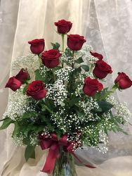 12 Red Roses from Nate's Flowers in Casper, WY
