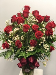 24 Red Roses from Nate's Flowers in Casper, WY