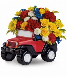 Jeep Wrangler King of the Road by Teleflora from Nate's Flowers in Casper, WY