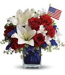 America the Beautiful by Teleflora from Nate's Flowers in Casper, WY