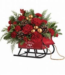 Teleflora's Vintage Sleigh Bouquet from Nate's Flowers in Casper, WY