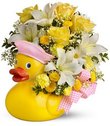 Just Ducky Bouquet for Girl - Premium from Nate's Flowers in Casper, WY