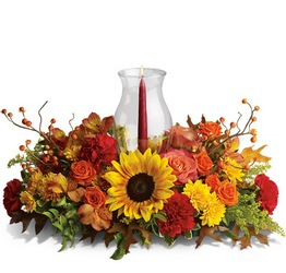 Delight-fall Centerpiece from Nate's Flowers in Casper, WY